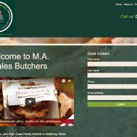 M.A.Coales - Website