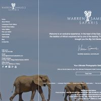 Warren Samuels Safaris - Website